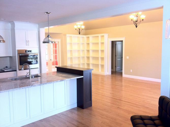 Open concept 2,200 square foot ranch with designer kitchen