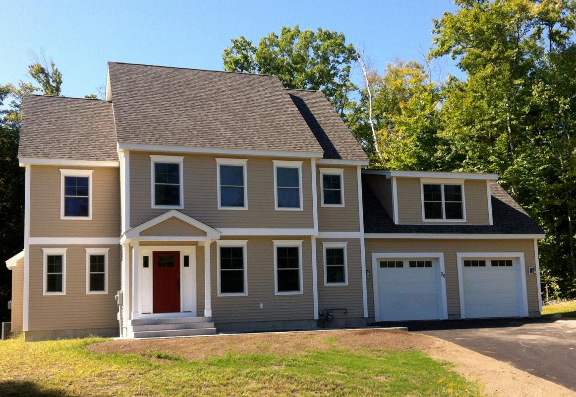 Cherry hill homes inc portfolio crafstman style colonial for Craftsman style homes for sale in nh